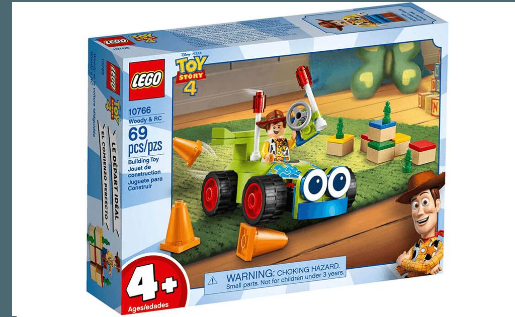 Конструктор LEGO Toy Story 4 10766 «Вуді і RC» з веселого мультфільму «Історія іграшок 4» від Disney Pixar.