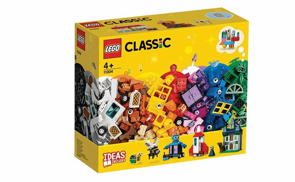 Діти та їхні батьки зможуть навчитися втілювати свої фантастичні ідеї з конструктором LEGO Classic 11004 «Вікна творчості».