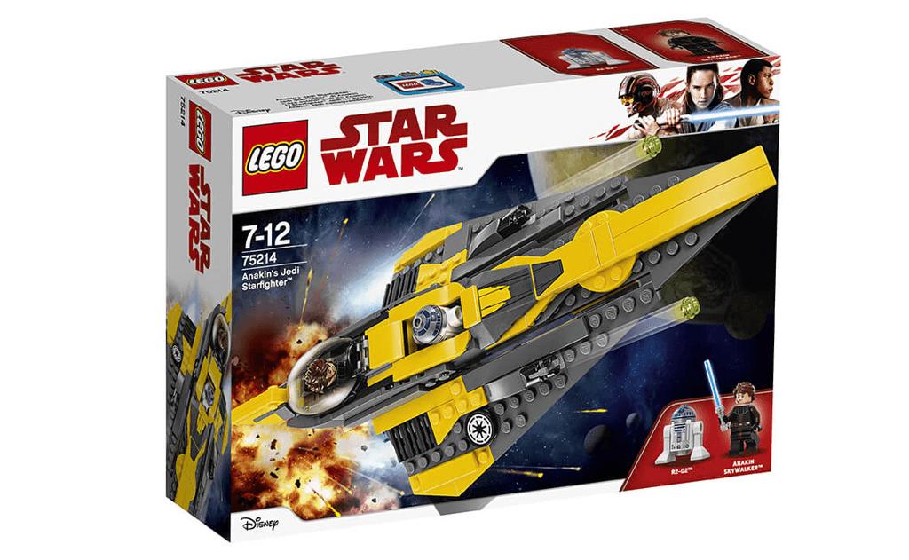 Черговий ре-дизайн та перевидання торкнулося і корабля лицаря-джедая Енакина Скайуокера, який зможе насолодитися своїм новим винищувачем в наборі ЛЕГО 75214.
