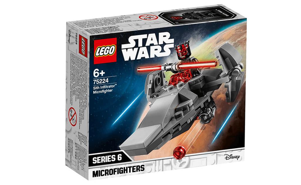 Збирай скоріше космічний корабель Дарта Мола в LEGO 75224 «Корабель - шпигун ситхів».