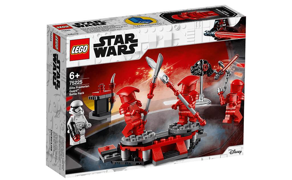 У LEGO 75225 «Бойовий набір Елітної преторіанської гвардії» будь-який маленький будівельник зможе провести захоплюючі тренувальні вправи на базі Елітної преторіанської гвардії.
