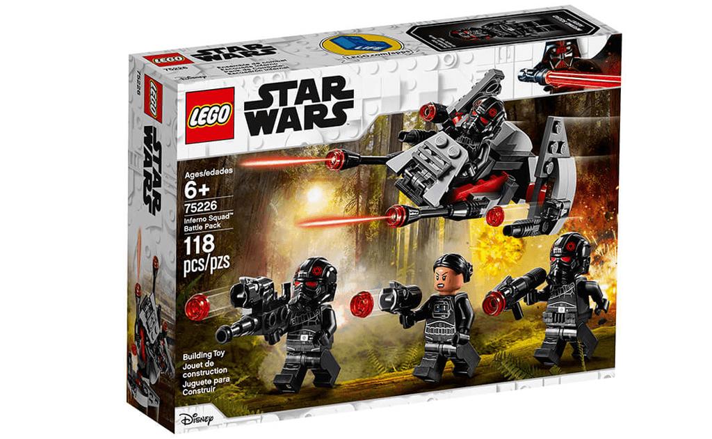 Додавайте в свою колекцію культових персонажів з Зоряних воєн з LEGO 75226 «Бойовий набір загону Інферно».
