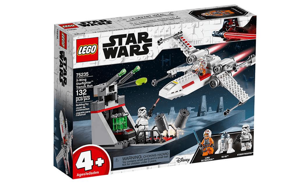 Незабутнє космічну подорож разом зі Зоряними війнами і LEGO 75235 «Зоряний винищувач типу X».