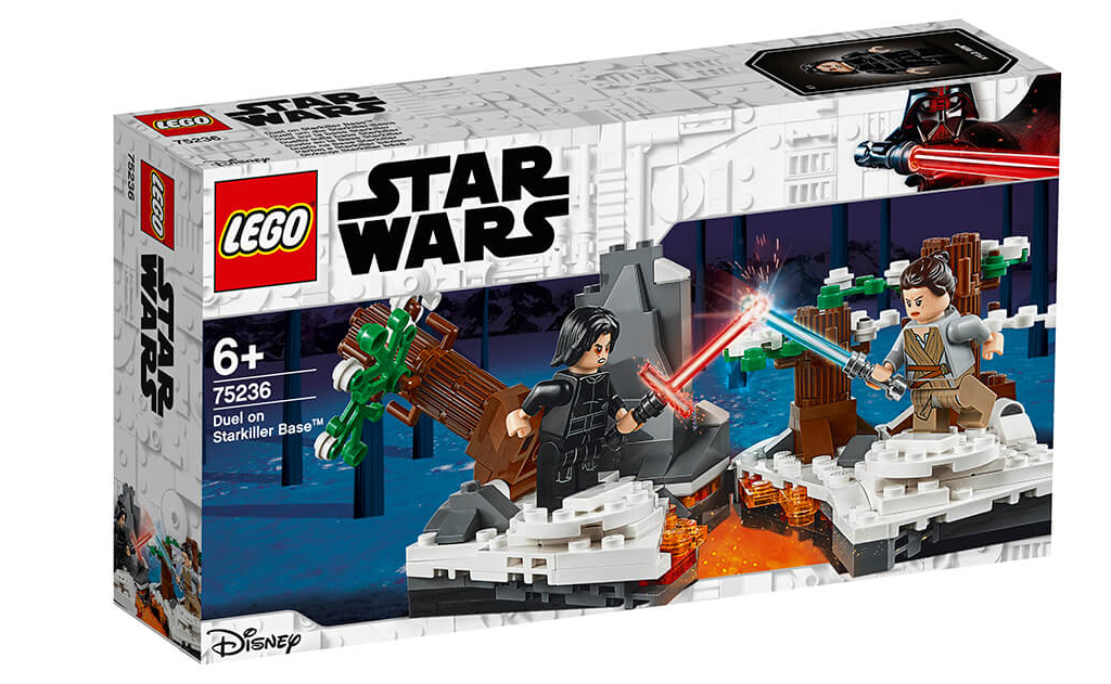 Відтворіть незабутні моменти з фільму «Зоряні війни: Пробудження сили» за допомогою конструктора LEGO 75236 «Битва біля бази «Старкіллер».
