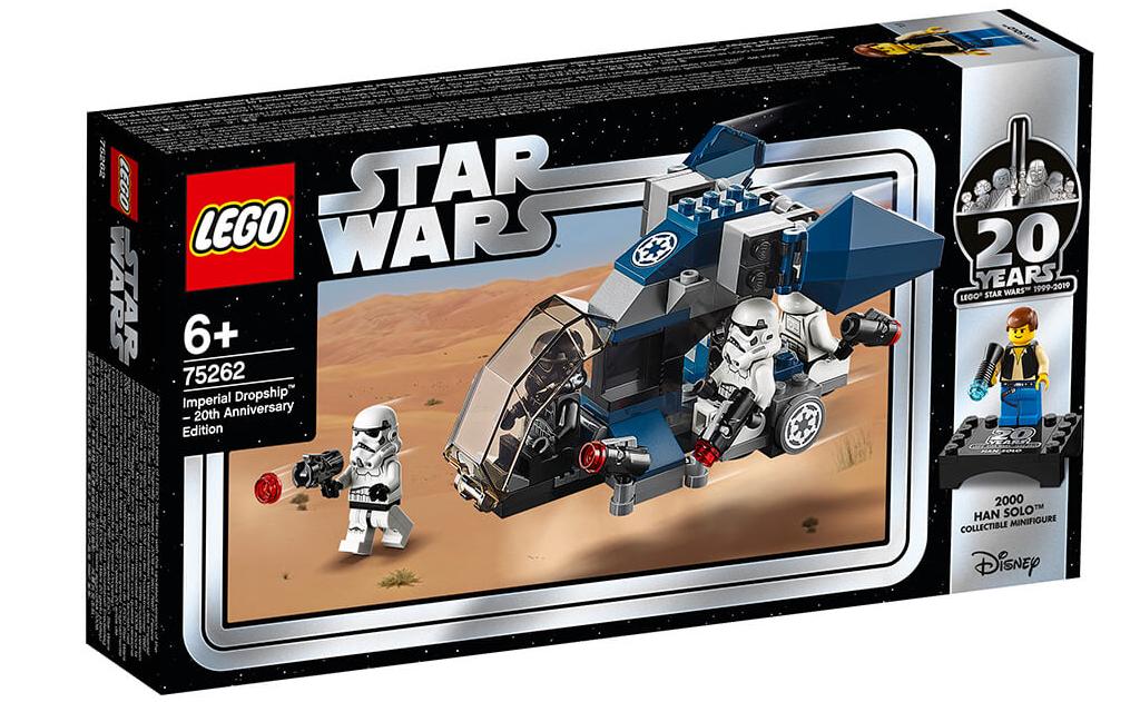 Відзначте 20 років з дати випуску першого набору LEGO Star Wars з конструктором 75262 Десантний корабель Імперії: випуск до 20-річного ювілею!