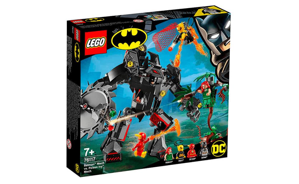 Робот Бетмена проти робота Отруйний плющ LEGO Super Heroes забезпечує корисне розвиток в ігровій формі: логіка, фантазія, дрібна моторика.