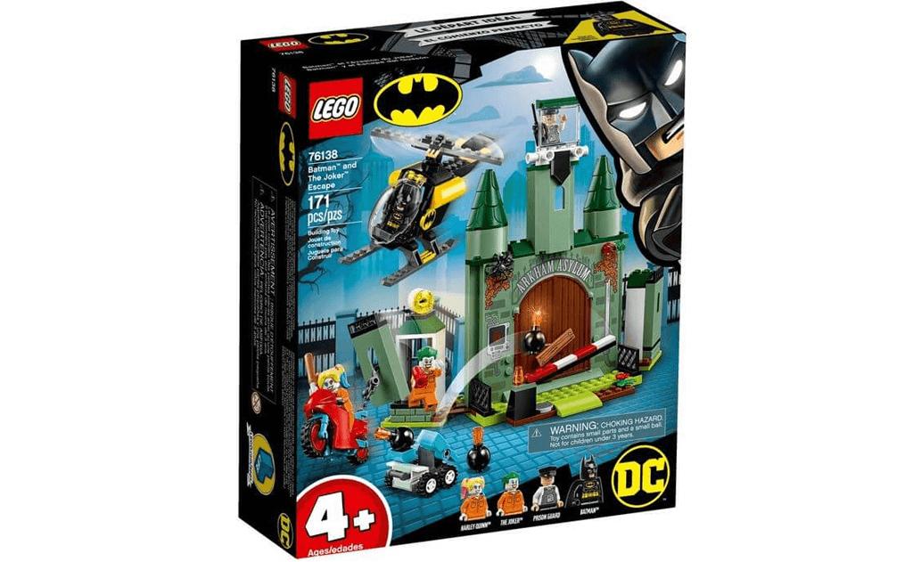 Зупини втечу в тюрмі, стань супергероєм з конструктором LEGO DC Batman 76138