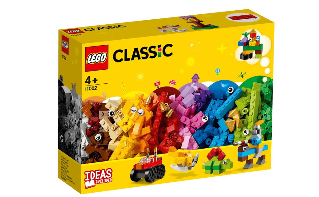 Насолоджуйся нескінченними пригодами з моделями з «Базового набору кубиків» LEGO® Classic.