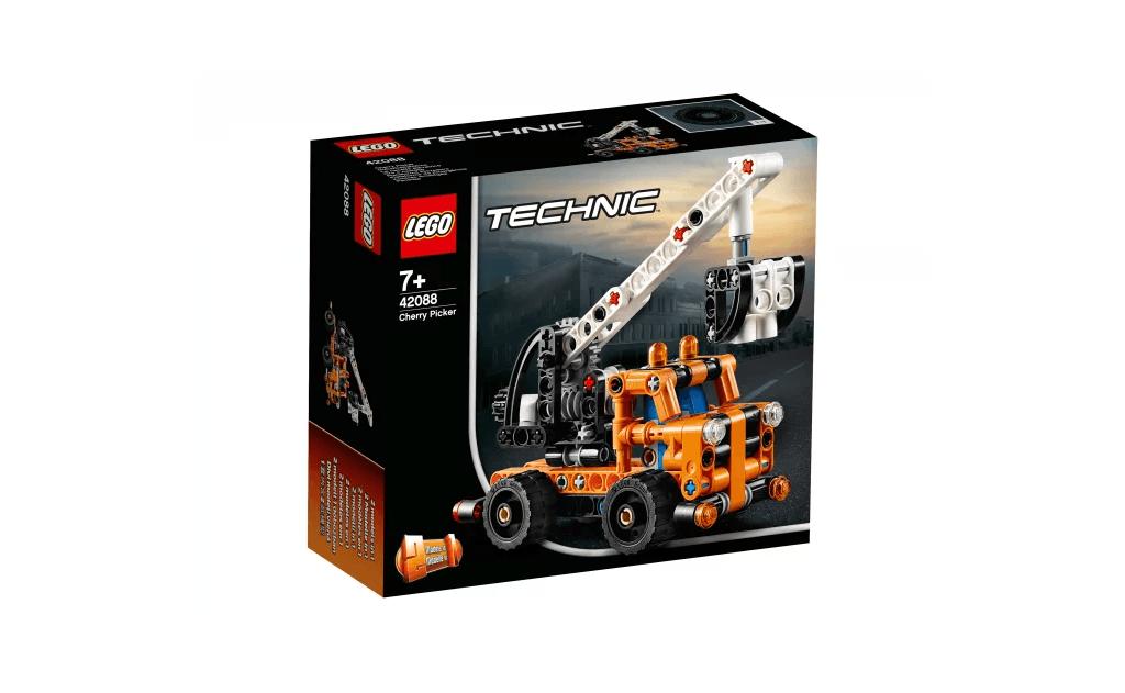 Доберися до запаморочливих висот з приголомшливим Ремонтним автокраном LEGO® Technic!