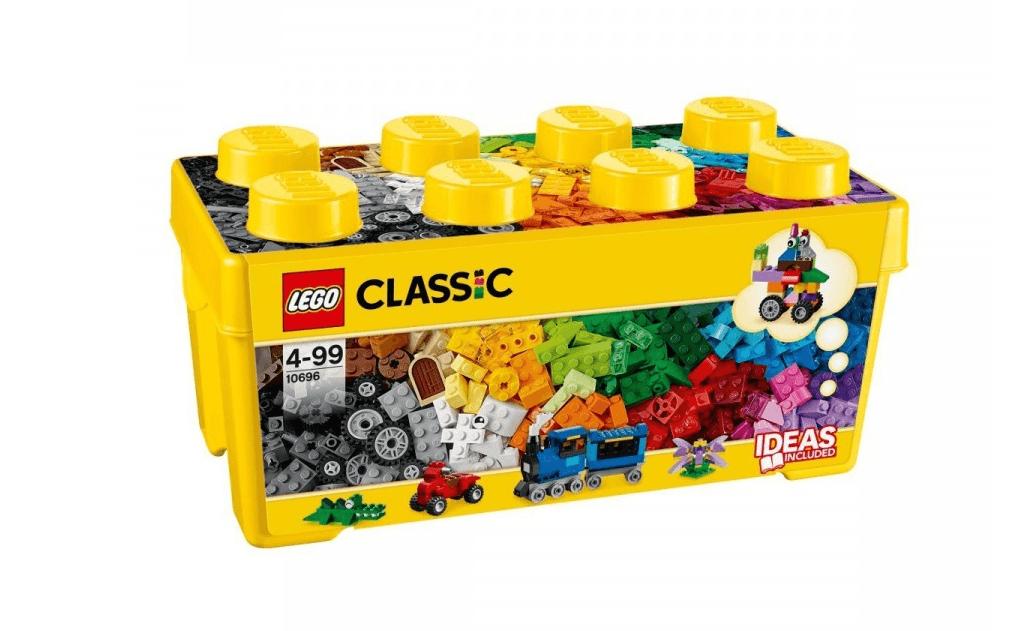 Чудовий набір яскравих барвистих блоків, з яких можна сконструювати всі, що підкаже дитині його фантазія: будинок, паровоз, млин, автомобіль, тварина.