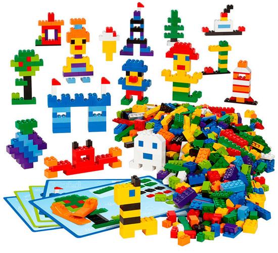 Цеглинки LEGO® для творчих занять (45020)
