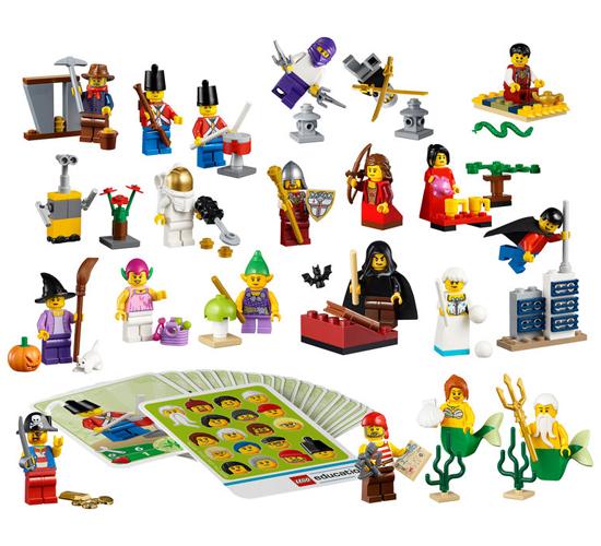 Казкові та історичні персонажі LEGO® (45023)
