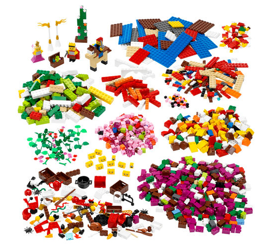 """Набір """"Декорації LEGO®"""" (9385)"""