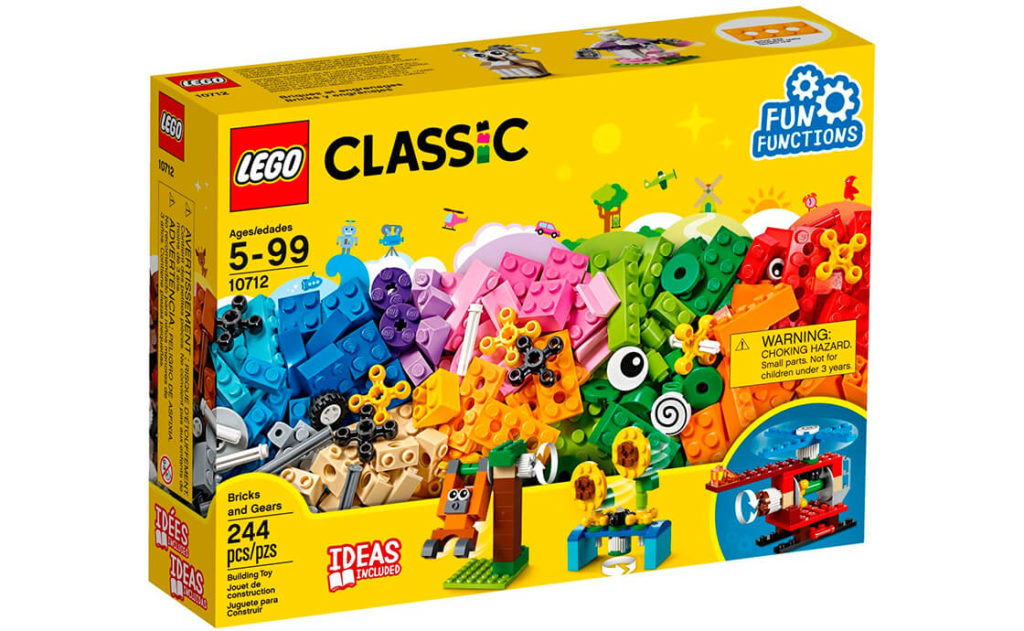 Створи яскравий і барвистий світ рухливих моделей і цікавих функцій за допомогою цього захоплюючого набору серії LEGO® Classic