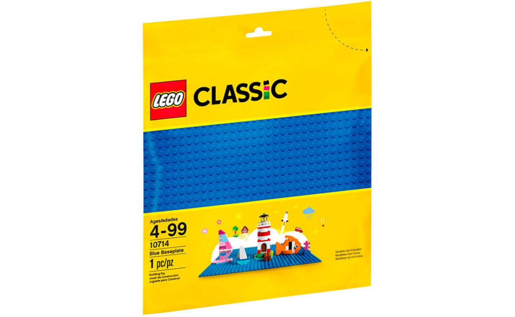 Склади затишний будинок на узбережжі, відкритий басейн, корабель у морі чи будь-що, що підкаже уява. Ця чудова базова пластина синього кольору – досконалий початок для моделей LEGO®!