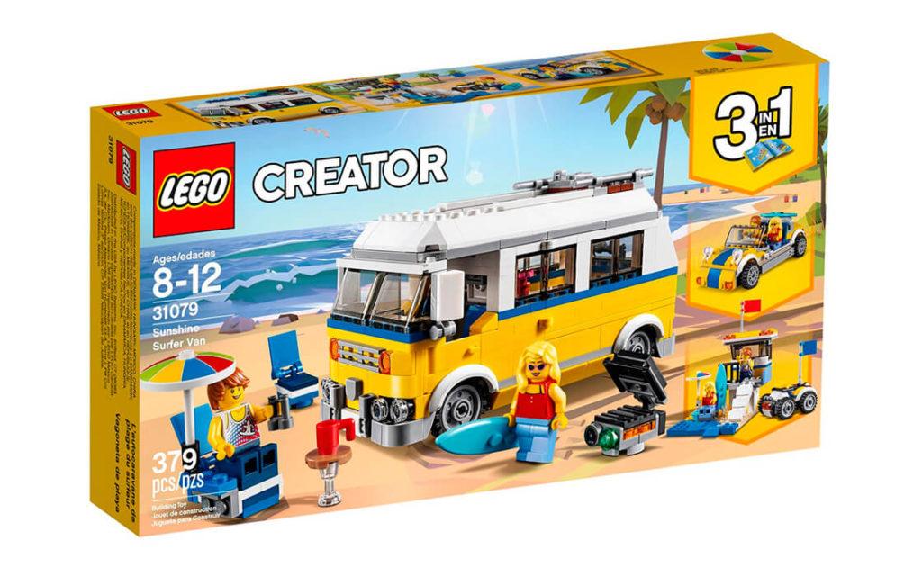 Вирушай на пляж на класному Сонячному фургоні серфінгіста. Завантаж дошку для серфінгу, парасолю, складний шезлонг і стілець на багажник на даху та сідай за кермо.