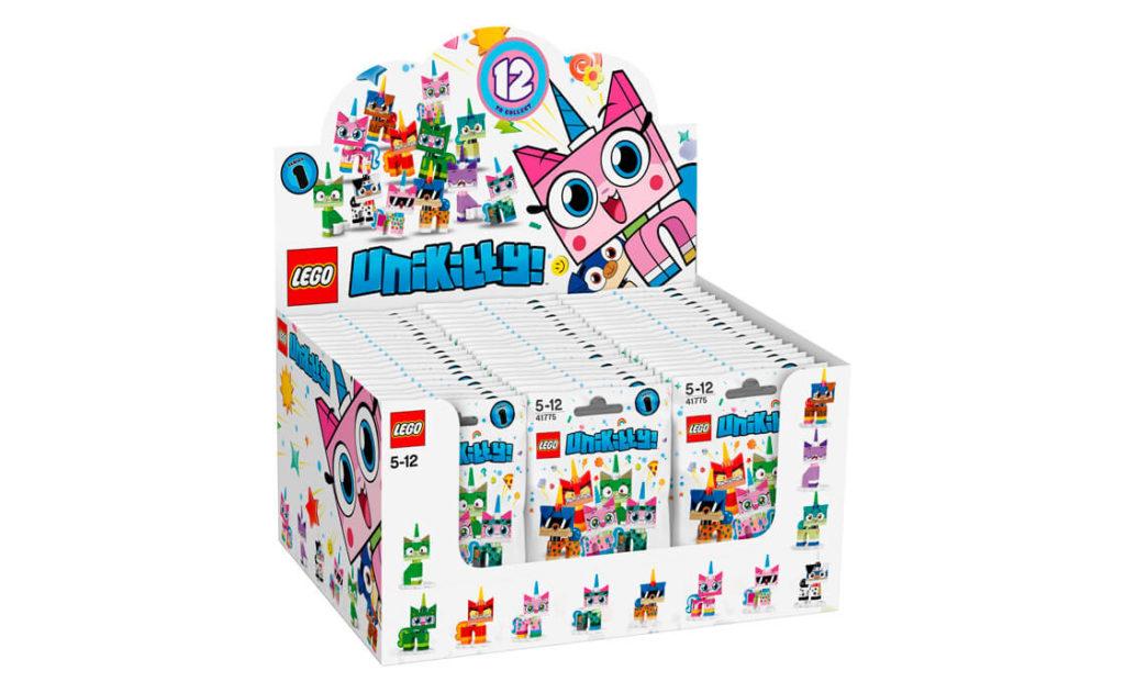 Занурюйся в чудовий іскристий світ Унікітті з ексклюзивними колекційними фігурками Unikitty™! Collectibles Series 1 (41775).