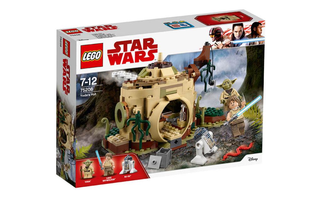 Тренуйся разом із Люком у таємній схованці Йоди на Дагобі. Врівноважуй ящики за допомогою Сили і зроби стійку на одній руці, щоб продемонструвати Люкові здібності.